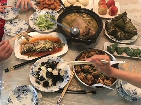 端午节的风俗(午餐)